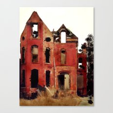 Abandoned Detroit Canvas Print