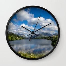 Padarn Lake Wall Clock