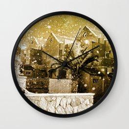 Hogsmeade Village Wall Clock