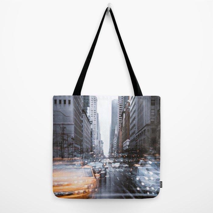 Streets as grey as my mood Tote Bag