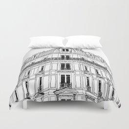 Parisian Facade Duvet Cover