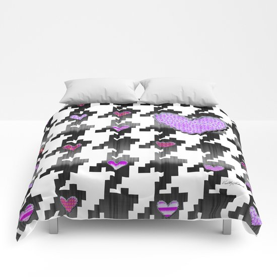 Puppytooth Love Comforters