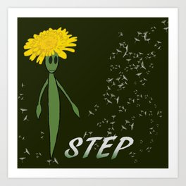 Dandeliono Character poster (STEP) Art Print
