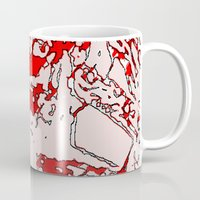 gore Mugs featuring Gore by Jessica Slater Design & Illustration