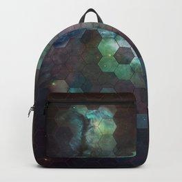 Nebula Hexagons Backpack