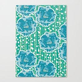 green garden1 Canvas Print