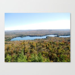 Above The Fall Canvas Print