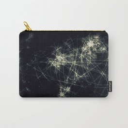 Infinity Particles Abstract Carry-All Pouch