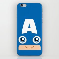 Adorable Captain iPhone & iPod Skin