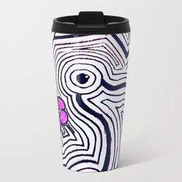 weird eyes Travel Mug