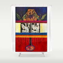 Life dimensions Shower Curtain
