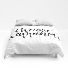 Choose Happiness Comforters