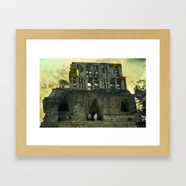 Palenque Temple Framed Art Print