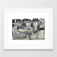 sin city Framed Art Prints featuring Sin City by anitaa