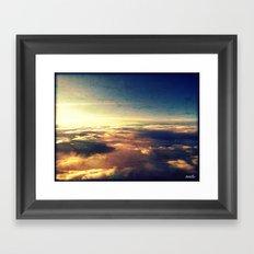 What heaven looks like Framed Art Print