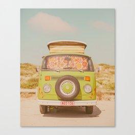Road-Trip Van Canvas Print