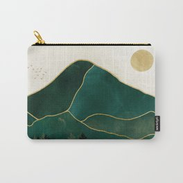 Mt Hood Emerald Mountain Abstract Carry-All Pouch