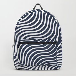 Whiskers Navy #583 Backpack