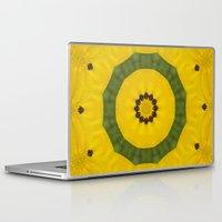 bees Laptop & iPad Skins featuring Bees by Deborah Janke