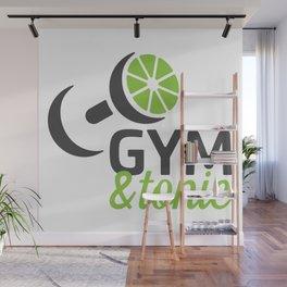 Gym & Tonic Wall Mural