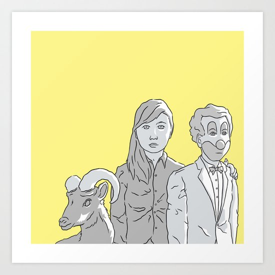 Charlie D Art Print