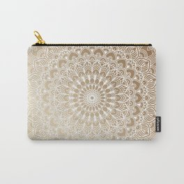 Gold Mandala 20 Carry-All Pouch