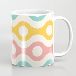 Retro Pattern Texture Design Print Coffee Mug