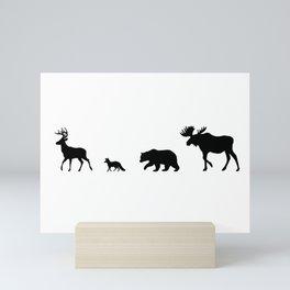 Nature Walk Mini Art Print