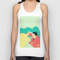 circus Tank Tops featuring Circus by ministryofpixel