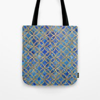 new year Tote Bags featuring New year by Edling art