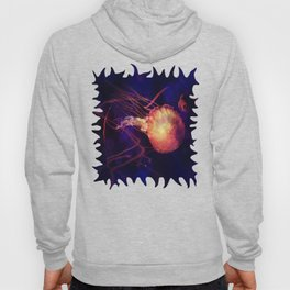 Jellyfish of the Blacklight Electro Rave Hoody