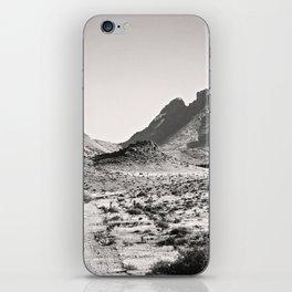 The Lost Highway III Black & White iPhone Skin