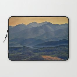 Evening in the Rockies - Montana Laptop Sleeve