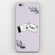 Snail Mail Love iPhone Skin