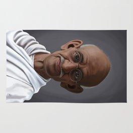 Celebrity Sunday ~ Mahatma Gandhi Rug