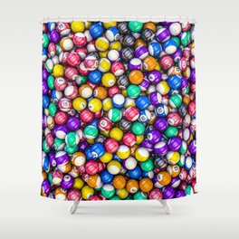 Poolhall Junkies Shower Curtain
