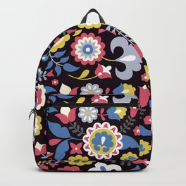Flowers motives Backpack
