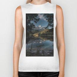 Lake Mood - Landscape and Nature Photography Biker Tank