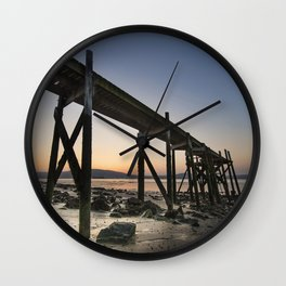 The old Peir at Holywood Wall Clock