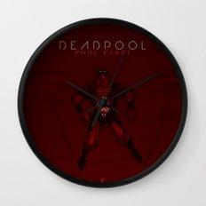 Deadpool - Pool Party Wall Clock