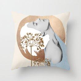 Gentle Beauty 8 Throw Pillow