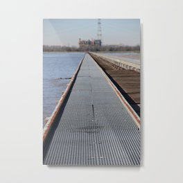 Spillway Metal Print