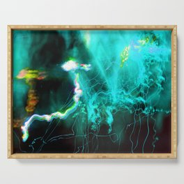 Beneath the Astral Ocean Serving Tray