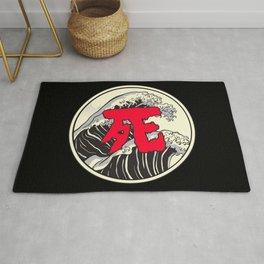 Japanese Word for Death Kanji Asian Symbol Gift Rug