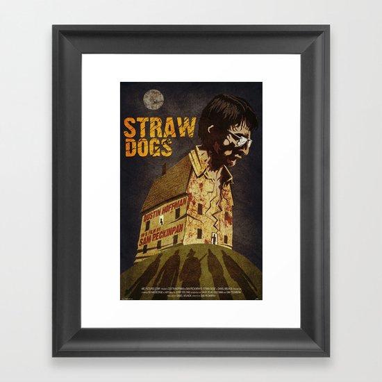 Straw Dogs Framed Art Print