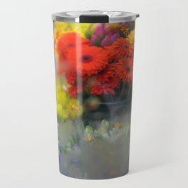 Bodega Flowers For Sale, New York City Travel Mug