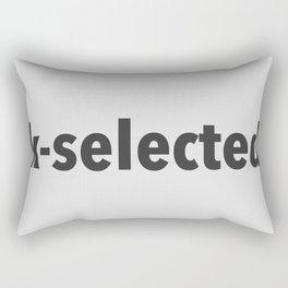 K-Selected Rectangular Pillow