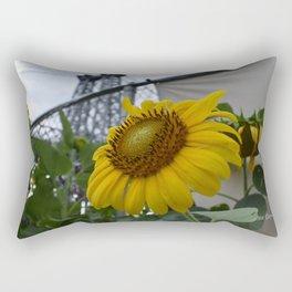 Flowers under the Bridge Rectangular Pillow