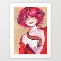 Thoughs - Pensamientos Art Print