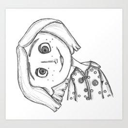 Coraline Jones Art Print